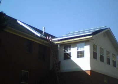 Residential Pole Mount Solar Installation
