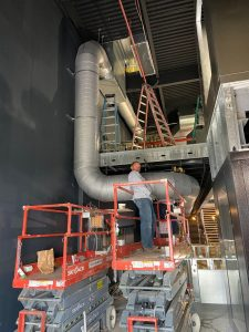 The team at Metro Services offers custom HVAC products and solutions including custom HVAC sheet metal fabrication.