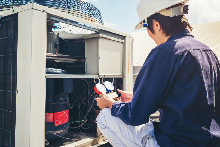 commercial HVAC services Chattanooga through MSI