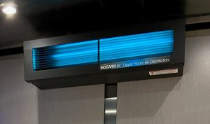 Self-contained UV lights can aid in improving Indoor Air Quality